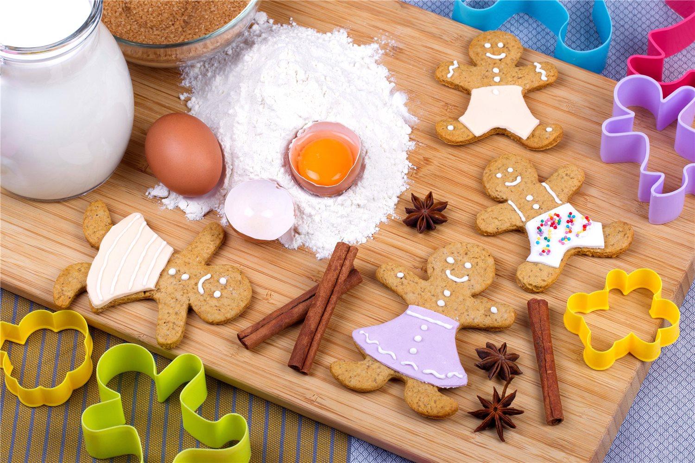 Печенье форму на газеы