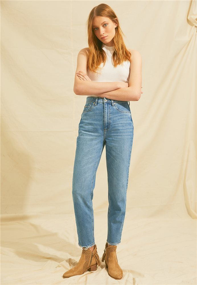 Vintage, Modern ve Cool: Mom Jean