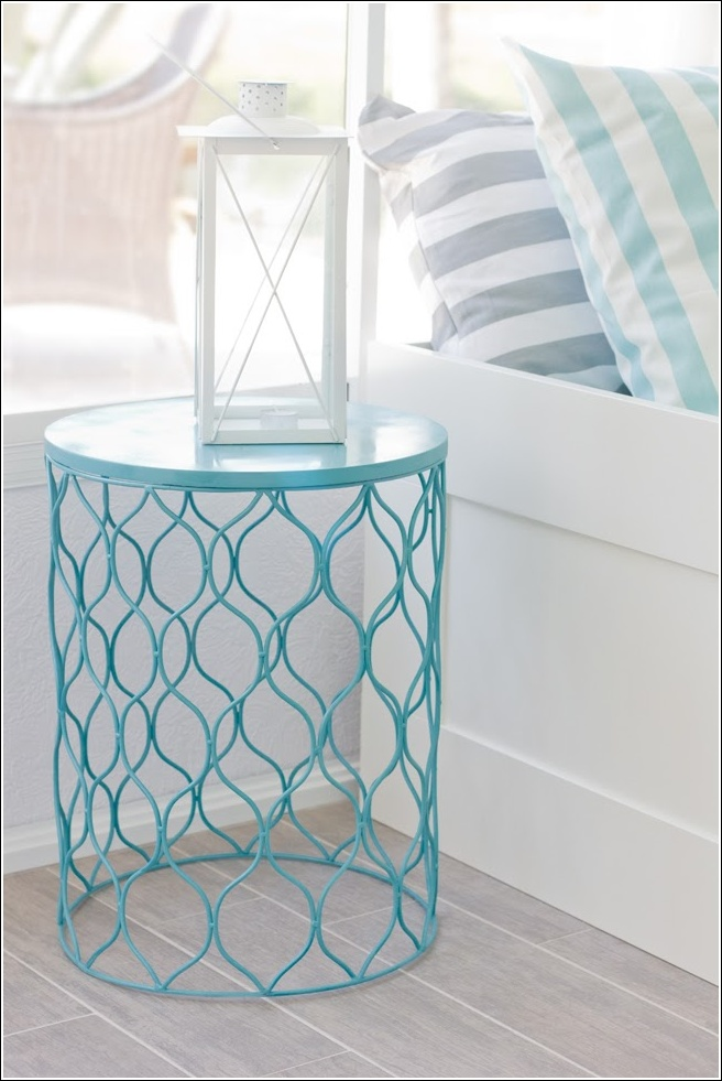 mesa de jardim jumbo:Trash Can End Table